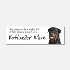 Rottweiler Mom Car Magnet 10 x 3