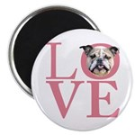 Love - Bulldog Magnet