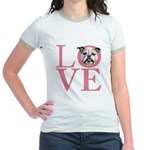 Love - Bulldog Jr. Ringer T-Shirt