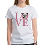 Love - Bulldog Women's T-Shirt