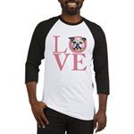 Love - Bulldog Baseball Jersey