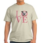 Love - Bulldog Light T-Shirt