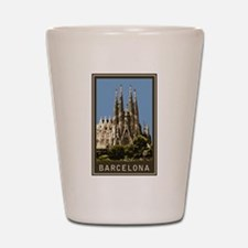 Barcelona Sagrada Familia Shot Glass
