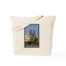 Barcelona Sagrada Familia Tote Bag