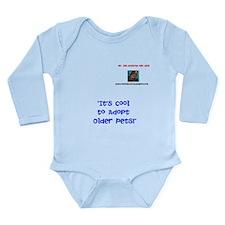 Mr. Bob Buttons Long Sleeve Infant Bodysuit