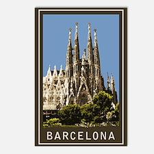 Barcelona Sagrada Familia Postcards (Package of 8)