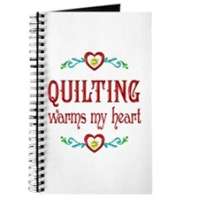 Quilting Warms My Heart Journal
