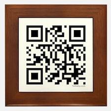 Team Edward QR Code Framed Tile