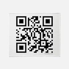 Team Edward QR Code Throw Blanket