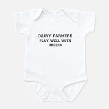 Dairy Farmers Infant Bodysuit
