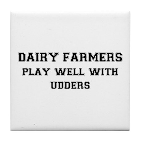 Dairy Farmers Tile Coaster