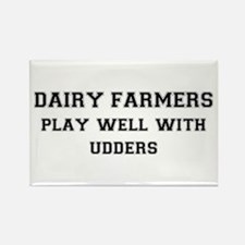 Dairy Farmers Rectangle Magnet