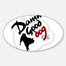 Karelian Bear Dog Oval Decal