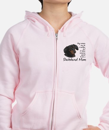 Dachshund Mom Zip Hoody
