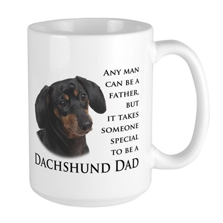 Dachshund Dad Large Mug