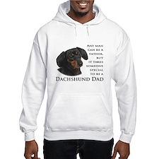 Dachshund Dad Jumper Hoody