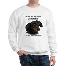 God Created Dachshunds Jumper