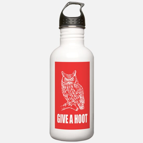 Give a Hoot Water Bottle