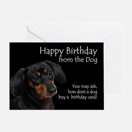 From the Dachshund Birthday Card