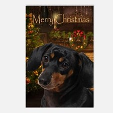 Dachshund Holiday Postcards (Package of 8)