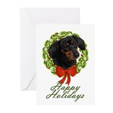 Dachshund Xmas Cards (Pk of 20)