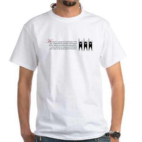Humanism White T-Shirt