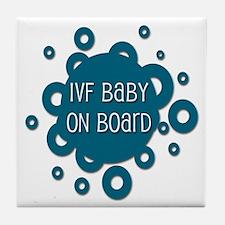 IVF Baby on Board Tile Coaster