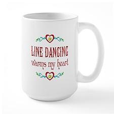 Line Dancing Warms Hearts Mug