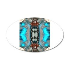 The Glass Dragons Collection 22x14 Oval Wall Peel