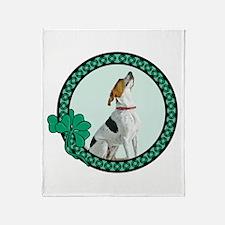 Irish Pride Foxhound Throw Blanket