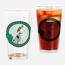 Irish Pride Foxhound Drinking Glass