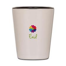 Enid Valentine Flower Shot Glass