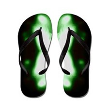 The Green Butterfly Collectio Flip Flops