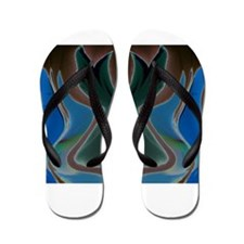 The Negative Bunny Collection Flip Flops