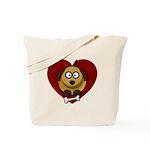 Valentines Puppy Love Tote Bag