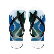 The Green Bunny Collection Flip Flops