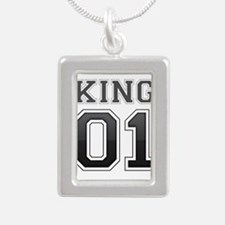 king and queen couple Necklaces