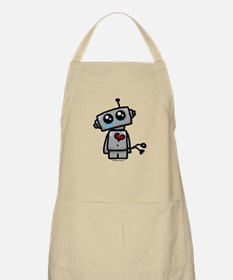 love sucks heartbreak robot Apron