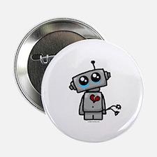"love sucks heartbreak robot 2.25"" Button"