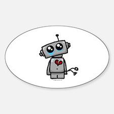 love sucks heartbreak robot Decal
