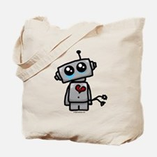 love sucks heartbreak robot Tote Bag