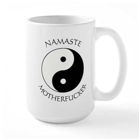 Namaste Motherfucker 4.pptx Mugs