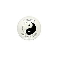 Cute Namaste yoga Mini Button (10 pack)