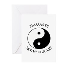 Funny Yin yang Greeting Cards (Pk of 10)