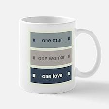 One Man, One Woman, One Love Mug