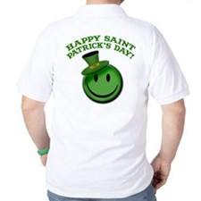 St. Patrick's Day Happy Face T-Shirt