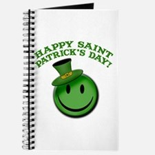 St. Patrick's Day Happy Face Journal