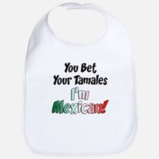 Bet Your Tamales Mexican Bib