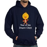 Year of the Dragon Chick Hoodie (dark)