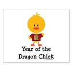 Year of the Dragon Chick Small Poster